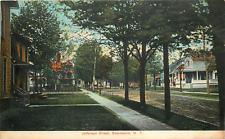SALAMANCA NY JEFFERSON STREET 1908 POSTCARD