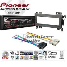 Pioneer Car Radio Stereo CD Player Dash Install Mounting Kit + Wiring Harness