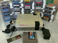 Nintendo NES System Console NEW 72 Pin Installed Super Mario and games