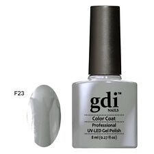 UK SELLER Gdi Nails Classic Color F23 UNDER THE WEATHER UV/LED Soak Off