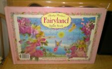 Vintage Fairyland Jigsaw Book 4 x 96 Piece Jigsaws By Shirley Barber Complete