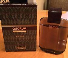 QUORUM ANTONIO PUIG 3.4 FL oz / 100 ML After Shave Splash New In Box