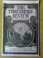 VTG Spring 1988 Threshers' Review Magazine for Midwest Mt. Pleasant Iowa