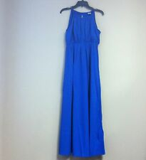 New ASOS Women's Sleeveless Summer Maxi Dress Blue Size 10