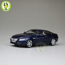 1/43 BMW 650i Cabrio Diecast Car Model Blue