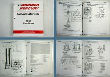 Mariner Mercury 75 / 90 Four Stroke Service Manual Model Year 2000