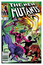NEW MUTANTS #16(6/84)1:THUNDERBIRD II(*WARPATH)HELLIONS(X-MEN)NEWSSTAND(CGC IT)1