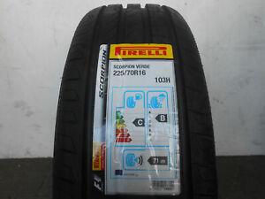 1 Offroad SUV-Reifen Pirelli Scorpion Verde Ecoimpact 225/70R16 103H NEU !