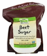 Now Foods BEET SUGAR - 3 lbs Non-GMO Substitute for Cane Sugar