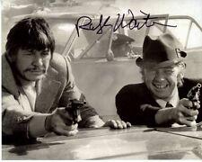 RALPH WAITES signed autographed w/ CHARLES BRONSON photo
