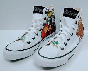 Converse x Scooby Doo CTAS HI The Gang and Villains Size 6 Mens / 8 Wmns 169076F