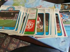 More details for manchester city football programmes 1976-1984