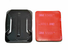 1x base curvada Almohadilla Adhesiva 3M Kit de montaje casco para GoPro 4 +3 3 2 1