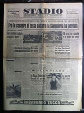 STADIO 3-12-1956 , CALCIO SERIE A B C 10° GIORNATA HOCKEY PISTA , pubblicita'