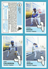 1982 Fritsch Midwest League Team Set Wausau Timbers