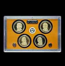 2011 S Presidential Proof Set ~ Johnson, Hayes, Garfield and Grant