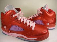 Nike Air Jordan Girls Retro 5 GS Gym Red Ion Pink SZ Youth 6Y (440892