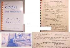 1955 STROUDSBURG,PA.CHRIST HAMILTON CHURCH RECIPE COOK BOOK pennsylvania dutch+