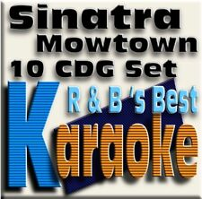 Kaaroke CD+g Music Maestro 10 Disc Set, Best Motown R&B+Sinatra New in Sleeve