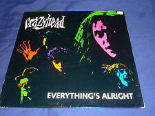 "CRAZYHEAD - EVERYTHING'S ALRIGHT 12"" UNPLAYED"