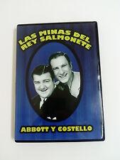 LAS MINAS DEL REY SALMONETE  Abbott y Costello Comedia.