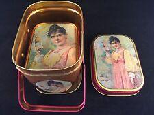 Collectible Decorative Budweiser Nesting Tins - 1992