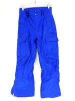 Mens XS 20th Anniversary BONFIRE Snowboard Radiant Pants Classic Fit Blue