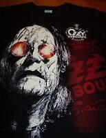 OZZY OSBOURNE BLACK RAIN T-Shirt SMALL NEW