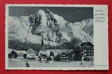 Tirol AK Seefeld 1943 Wettersteingebirge Ortsansicht Gebäude Architektur Schnee
