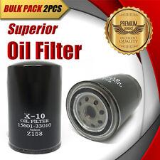 2x Oil Filter Z158/WZ158 Fits TOYOTA Celina Corolla Corona Sprinter Camry Tercel