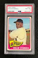 Pittsburgh Pirates Willie Stargell 1965 Topps #377 PSA NM-MT 8