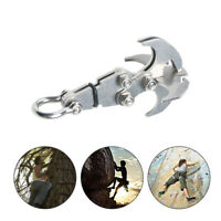 Multifunction Stainless Steel Gravity Hook Foldable Grappling Climbing Claw #1