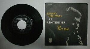 713 45 GIRI JOHNNY HALLYDAY - LE PENITENCIER 1964 373462 BF ITALY CVCC