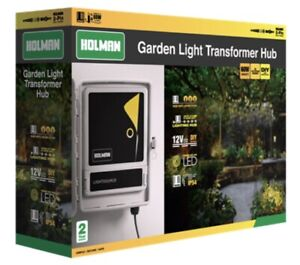 Holman Warm White Garden Light Transformer Hub