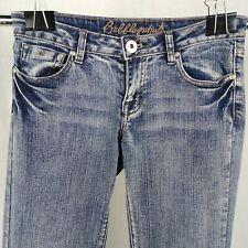 Bubblegum Jeans Medium Wash Bootcut Low Rise Juniors Size 7/8