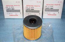 3 filtres à huile Kawasaki 16099-004 KLR 250 650 KLX 650 KLF 220 300 BAYOU