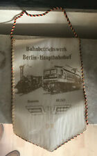 DR Wimpel Deutsche Reichsbahn Bahnbetriebswerk Berlin-Hbf Saxonia BR 243