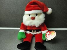 "Ty Beanie Babies Santa Claus 1998 retired with tag 9"" tall ready for Christmas"