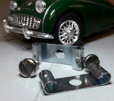 Triumph TR3 TR Jaguar XK Morris Minor Bullet Earth Lead Clip Terminals & Screws