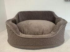 BEST FRIENDS BY SHERI MAUVE COMFORT DOG BED EX COND