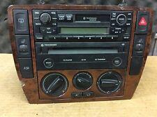 98 99 00 01 02 VW Passat Golf Jetta Cassette CD HEATER CONTROL CONSOLE