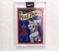 Topps Project 2020 Mike Trout #400 Rookie Card - Artist Version Of 2011 Rookie