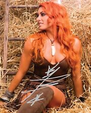 BECKY LYNCH #4 (WWE) - 10x8 PRE PRINTED LAB QUALITY PHOTO (SIGNED) (REPRINT)