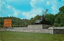 Fort Knox Kentucky~Fort Knox Monument on US 31-W Dixie Hwy 1950s