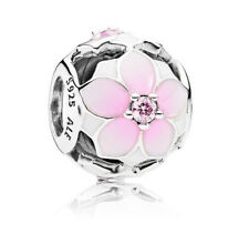 Genuine Pandora Sterling Silver Magnolia Bloom Charm - 792087PCZ