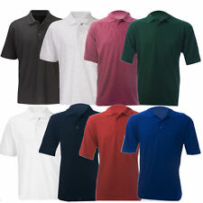New Mens & Ladies Active Pique Polo Shirt Size XS - 5XL for Sport Work Leisure