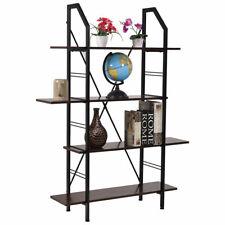 4 Layers Wooden Bookshelf Storage Organizer Display Home Office Furniture New