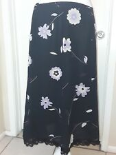 August max Skirt 1X Floral