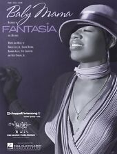 "FANTASIA ""BABY MAMA"" SHEET MUSIC-PIANO/VOCAL/GUITAR-BRAND NEW ON SALE-VERY RARE!"