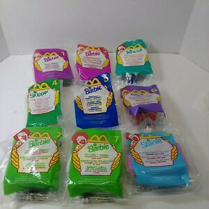 1999 Mcdonalds Barbie Happy Meal Toys COMPLETE SET OF 8 Unopened